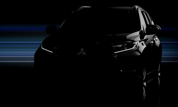 Mitsubishi Pajero Sport (มิตซูบิชิ ปาเจโร สปอร์ต) โฉมใหม่ ปล่อยภาพทีเซอร์แล้ว ดีเดย์เปิดตัว 1 ส.ค.นี