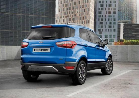 Ford EcoSport 2015 ใหม่ ไม่มีที่เก็บล้ออะไหล่แล้ว