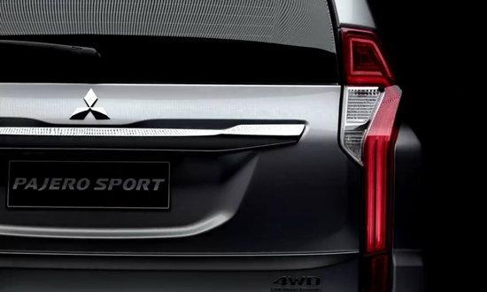 เผยภาพ 'Mitsubishi Pajero Sport' ชุดใหม่ เห็นรายละเอียดชัดเจน