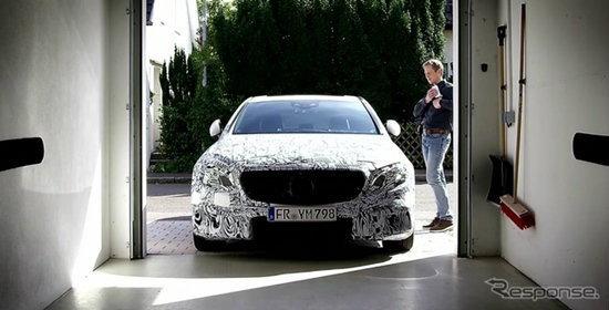 Mercedes-Benz E-Class 2016 ใหม่ มาพร้อมระบบสั่งจอดรถผ่านมือถือได้!