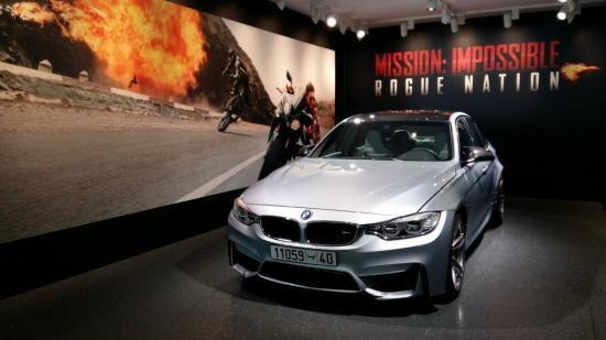 """สัมผัสตัวจริง """"BMW M3"""" ที่มิวนิค จากหนังดัง Mission: Impossible"""