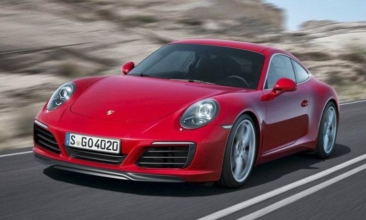 เผยโฉม 2016 Porsche 911 Carrera เฟซลิฟท์ใหม่ก่อนเปิดตัวจริง 12 ก.ย.นี้