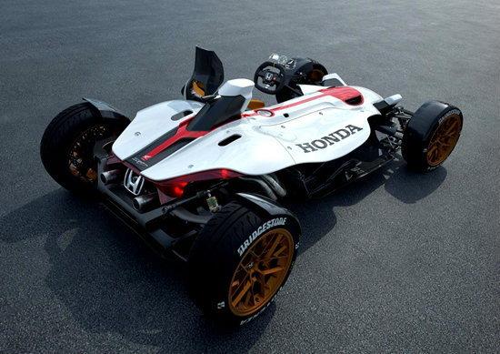 Honda Project 2&4 มอเตอร์ไซค์สี่ล้อเผยโฉมแล้วก่อนเปิดตัวที่แฟรงค์เฟิร์ต