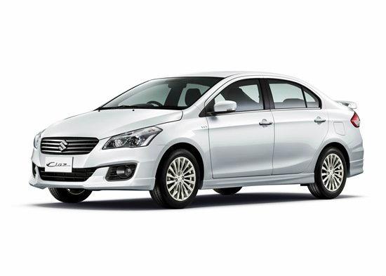ราคารถใหม่ Suzuki ในตลาดรถยนต์ประจำเดือนกันยายน 2558