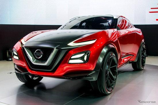 Nissan Gripz Concept เผยโฉมเป็นครั้งแรกที่งาน Frankfurt Motor Show 2015