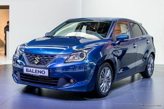 Suzuki Baleno ใหม่ เผยคันจริงแล้วที่งาน Frankfurt Motor Show 2015