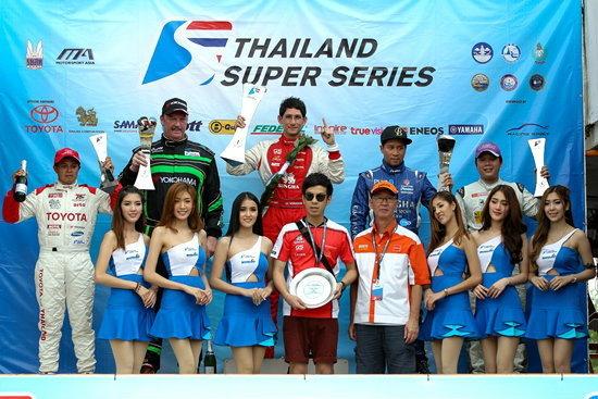 กระหึ่มทัพ Super Car กว่า 30 คัน บุกพีระฯ ในรายการ Thailand Super Series สนามที่ 5