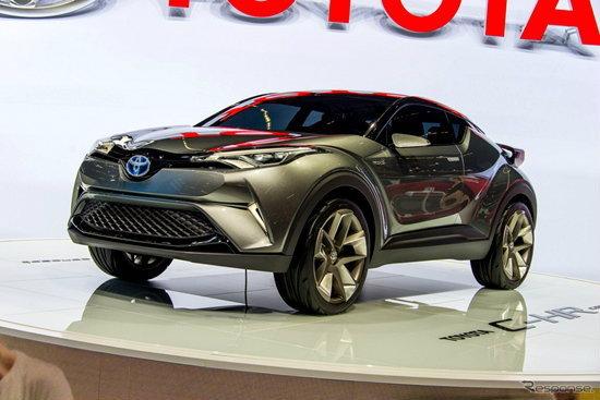Toyota C-HR Concept เวอร์ชั่น 5 ประตูเผยโฉมแล้วที่งาน Frankfurt Motor Show 2015