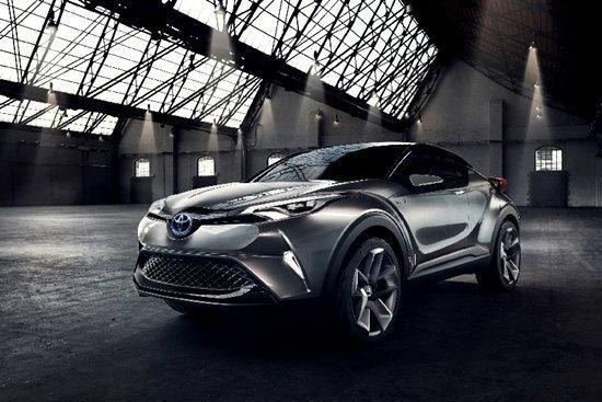 Toyota C-HR Concept เวอร์ชั่นผลิตจริงปี 2016
