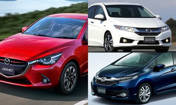 10 อันดับรถใหม่ประหยัดน้ำมันมากที่สุดในญี่ปุ่น