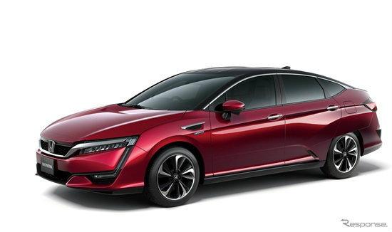 เผยโฉม 'Honda FCV' เวอร์ชั่นผลิตจริงก่อนเปิดตัวที่ญี่ปุ่น