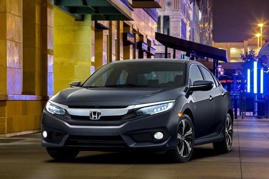 หลุด 'Honda Civic 2016' ใหม่ มีสีให้เลือกถึง 9 สี และสีภายในอีก 3 สี