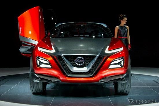 Nissan Gripz Concept เตรียมเปิดตัวที่โตเกียวมอเตอร์โชว์ 2015