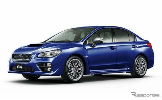 Subaru WRX S4 SporVita ใหม่ เตรียมเปิดตัวโตเกียวมอเตอร์โชว์ 2015