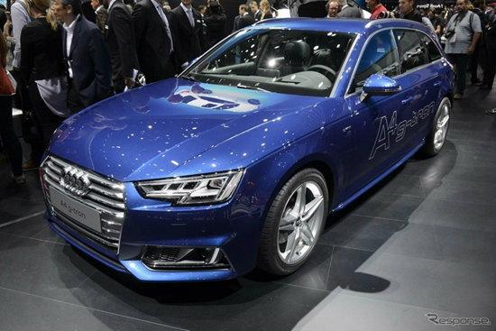 เปิดตัว 'Audi A4 g-tron' เวอร์ชั่นพลังงานทางเลือก CNG