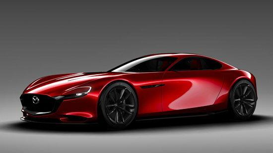 Mazda RX-Vision ต้นแบบรถสปอร์ตเครื่องยนต์โรตารี่ใหม่ล่าสุดเผยโฉมที่โตเกียวมอเตอร์โชว์ 2015