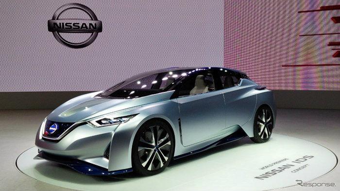 Nissan IDS Concept ต้นแบบรถไฟฟ้าใหม่ล่าสุดเปิดตัวที่โตเกียวมอเตอร์โชว์ 2015