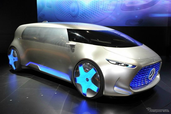 Mercedes-Benz Vision Tokyo Concept ถูกเปิดตัวอย่างเป็นทางการที่โตเกียวมอเตอร์โชว์ 2015