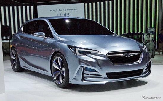 Subaru Impreza 5-Door Concept เปิดตัวอย่างเป็นทางการที่โตเกียวมอเตอร์โชว์ 2015