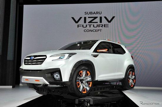 Subaru Viziv Future Concept ถูกเปิดตัวอย่างเป็นทางการที่งานโตเกียวมอเตอร์โชว์ 2015