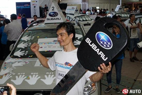 ปิดฉาก Subaru Car Challenge 2015 เวียดนามสุดอึดคว้า Subaru XV ใหม่ ไทยพ่ายแต่ยังแกร่งปีหน้าสู้ต่อ