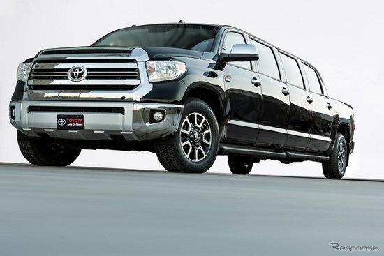 Toyota Tundrasine กระบะลีมูซีนเผยโฉมที่สหรัฐฯ