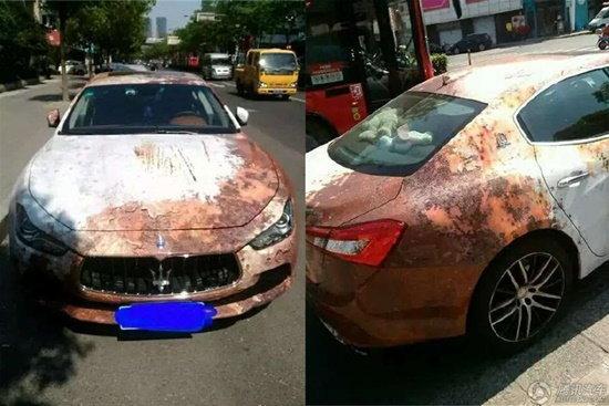 อึ้ง! Maserati Ghibli รุ่นใหม่แต่เป็นสนิมทั้งคัน!?!