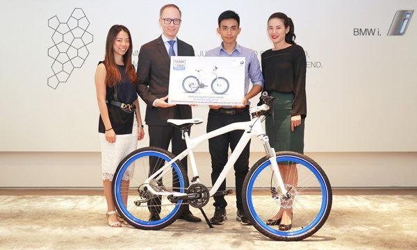 บีเอ็มดับเบิลยู ประเทศไทย มอบรางวัลจักรยาน BMW Cruise Bike แก่ผู้โชคดี จากแคมเปญ BMW Free The Bike
