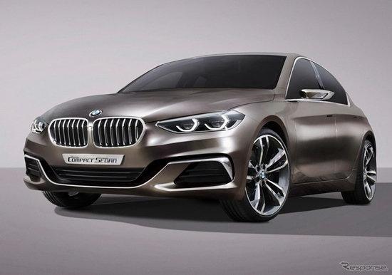 'BMW Concept Compact Sedan' เผยโฉมแล้วที่จีน คาดเป็น 'ซีรี่ย์ 1' เวอร์ชั่นซีดาน