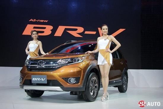 Honda BR-V ใหม่ เผยโฉมจริงแล้วที่งานมอเตอร์เอ็กซ์โป 2015