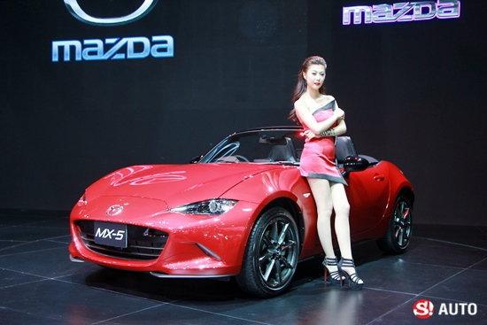 ชมบูธ Mazda ที่งาน Motor Expo 2015