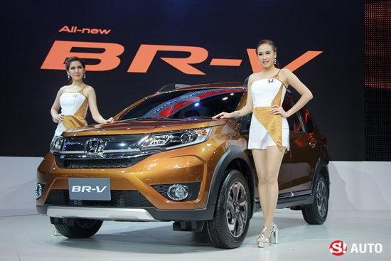 รถใหม่บูธ Honda ในงาน Motor Expo 2015