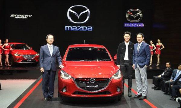 มาสด้าเขย่าวงการรถยนต์ลุยเปิดตัวรถใหม่ 3 รุ่นรวด พร้อมเปิดตัวน้องนาย ณภัทร เป็นแบรนด์ฯมาสด้า2