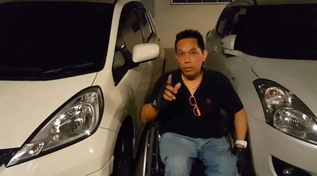 แชร์สนั่น! คลิปเบียดเบียนที่จอดรถคนพิการ