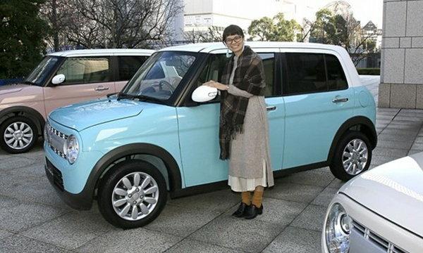 'Suzuki Alto Lapin' ใหม่ ได้รับรางวัลสีรถยนต์ยอดเยี่ยมปี 2015-2016