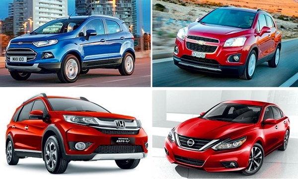 เปิดโชว์รูมรถใหม่ ปี2016 ′เอสยูวี-เก๋งเล็ก′ มาแรง!