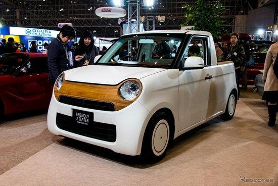 Honda N-ONE Pickup กระบะจิ๋วในสไตล์สุดแบ๊วที่งาน Tokyo Auto Salon 2016