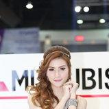 พริตตี้ MITSUBISHI - Motor Show 2014