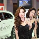 พริตตี้ KENWOOD  - Motor Show 2014