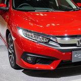 Honda Civic 2017 Rallye Red