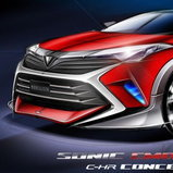 Toyota C-HR Sonic Emotion