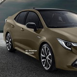 Toyota Corolla Rendered / Credit: Carwp