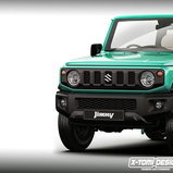 Suzuki Jimny 2018 Rendered / X-Tomi Design