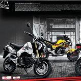 ชุดแต่ง Honda MSX125