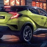 Toyota C-HR Neon Lime 2019