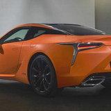 Lexus LC500h Matte Prototype 2019