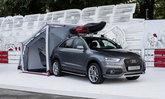 Audi Q3 Camping Tent ไอเดียเจ๋ง-ท้ายกางเต้นท์ได้