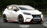 ภาพตัดต่อ 2017 Nissan March/Micra เวอร์ชั่น NISMO แต่งหล่อขึ้นเป็นกอง