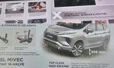 Mitsubishi Xpander 2017 ใหม่ หลุดภาพโบรชัวร์ก่อนเปิดตัวอย่างเป็นทางการ