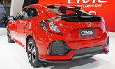 Honda Civic Hatchback 2018 สีแดง Rallye Red เคาะราคาเดิม 1.169 ล้านบาท